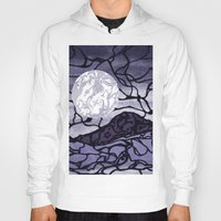 cracked Hoodies featuring Cracked by Mel Moongazer