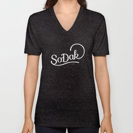 So. Dak. Unisex V-Neck