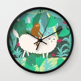 Jungle Adevnture Wall Clock