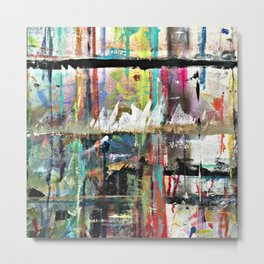 Colorful Bohemian Abstract 3 Metal Print
