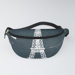 Eiffel Tower Fanny Pack