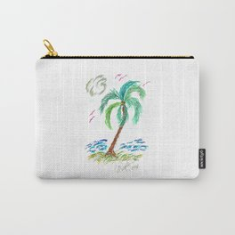 """Beach Afternoon"" Carry-All Pouch"