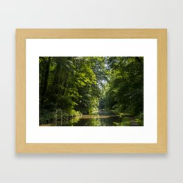 On the Shropie Framed Art Print