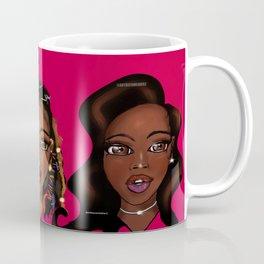 Melanin Beauty Series - Hot Pink Coffee Mug