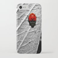 ladybug iPhone & iPod Cases featuring Ladybug by Derek Fleener