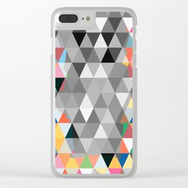 Many colors of being Clear iPhone Case