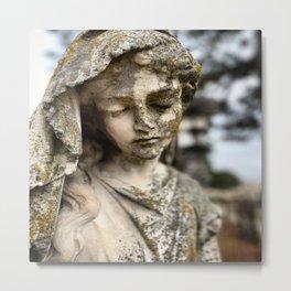 Weeping Statue Oakland Cemetery Metal Print