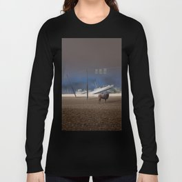 atmosphere · stupidity Long Sleeve T-shirt