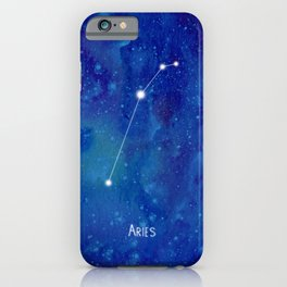Constellation Aries iPhone Case