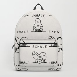 Inhale Exhale Avocado Backpack