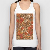maps Tank Tops featuring Fantasy City Maps 3 by MehrFarbeimLeben