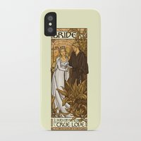 bride iPhone & iPod Cases featuring Bride by Karen Hallion Illustrations