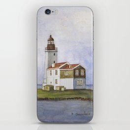 Noord Holland Lighthouse iPhone Skin