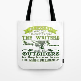 Writers, Artists, Dreamers Tote Bag