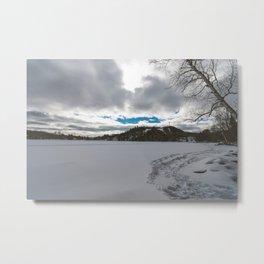 Winter Landscape 2 Metal Print