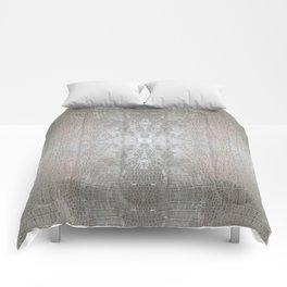 Silver Velvet Snake Pattern Comforters