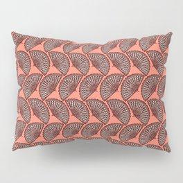 Fan on coral Pillow Sham