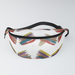 Simple Abstract Leafs Fanny Pack