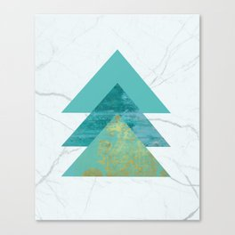 Green Peaks IV Canvas Print
