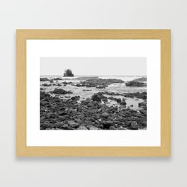 Rock Arch at Crystal Cove, Newport Beach, California Framed Art Print