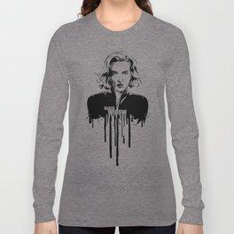 Fandom in Ink: Black Widow Long Sleeve T-shirt