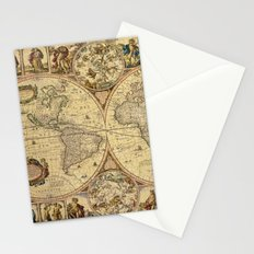 The puzzled world Stationery Cards