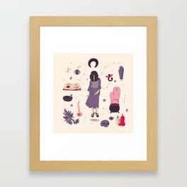 juana paraguaya Framed Art Print