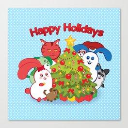 Ernest | Winter Holidays Canvas Print