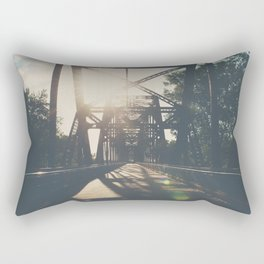 crossing the Mississippi ... Rectangular Pillow