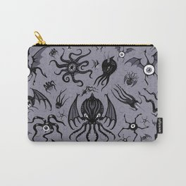 Cosmic Horror Critters in Twilight Zone Glow Carry-All Pouch