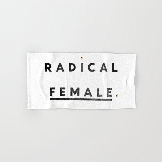 Radical Female Hand & Bath Towel