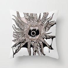 Ink'd Kraken Throw Pillow