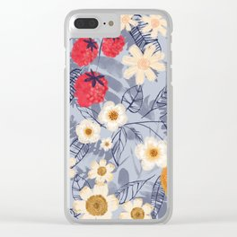 Summer Fruits Clear iPhone Case