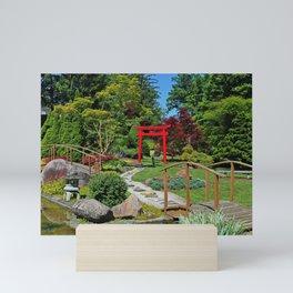 Through the Torii Gate Mini Art Print