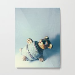 Bear-rel of Laughs Metal Print