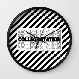 College Station USA CITY Funny Gifts Wall Clock