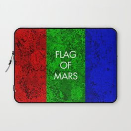 THE FLAG OF MARS Laptop Sleeve