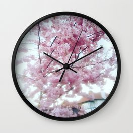 Spring on. Wall Clock