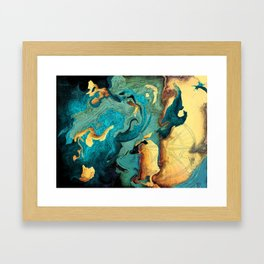 Archipelago Framed Art Print
