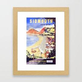 Advert For Travel Framed Art Print