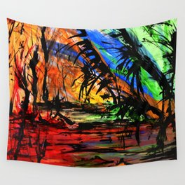 Fire & Flood Wall Tapestry