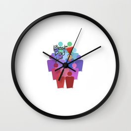 Best Dad Here Wall Clock