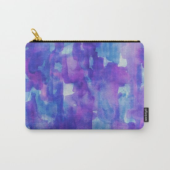Blue & Purple Carry-All Pouch