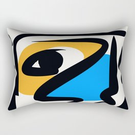 P was in my head ??? Rectangular Pillow