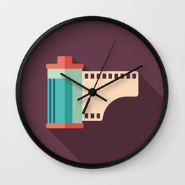 Camera Roll Wall Clock