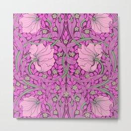 """William Morris """"Pimpernel"""" 5. Metal Print"""