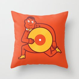 UNDO | Music to the people 12 Throw Pillow