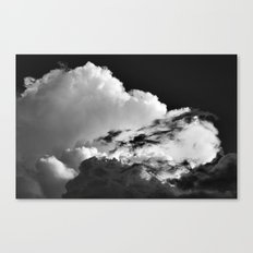 'Swirling Clouds' Canvas Print