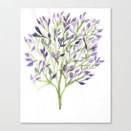 Watercolour Tree 1 |Modern Watercolor Art | Abstract Watercolors Canvas Print