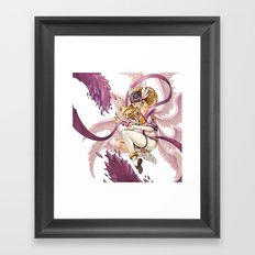 Angewomon Framed Art Print